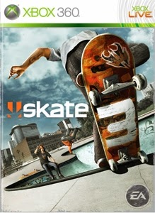 cover xbox360 du jeu skate 3