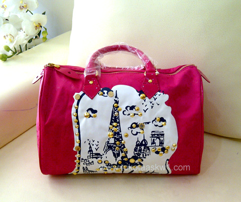 Kode: Tas Branded Louis Vuitton Speedy Pink