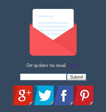 WordPress Slash Subscription Widget for Blogger