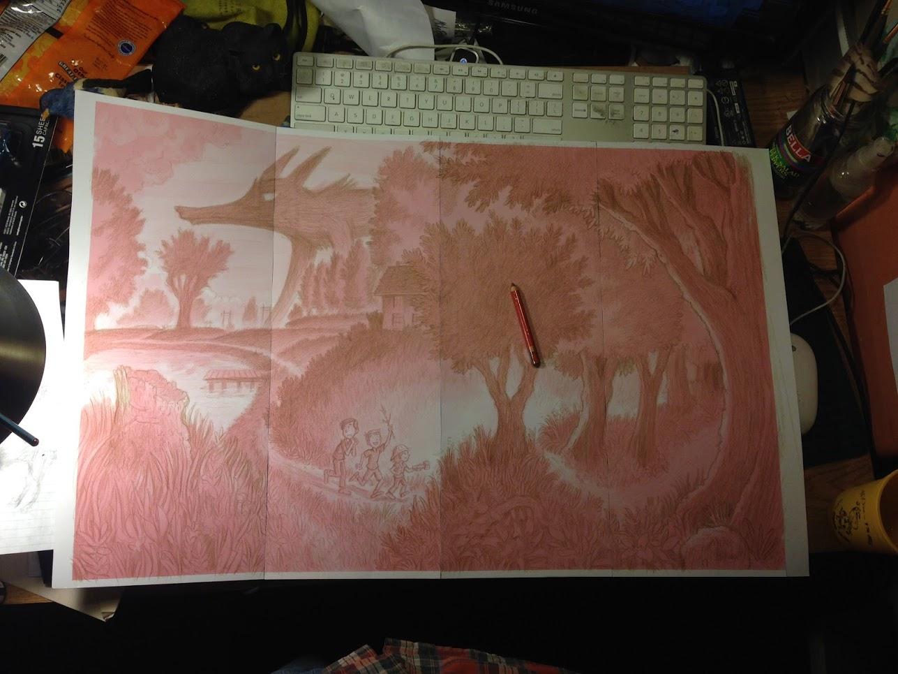 ponyo kazuo oga and poster paint mikeblakestudio com