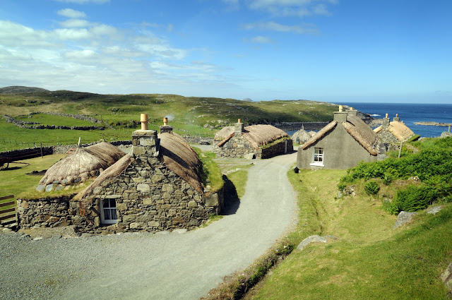 Domy tkaczy ze Szkocji