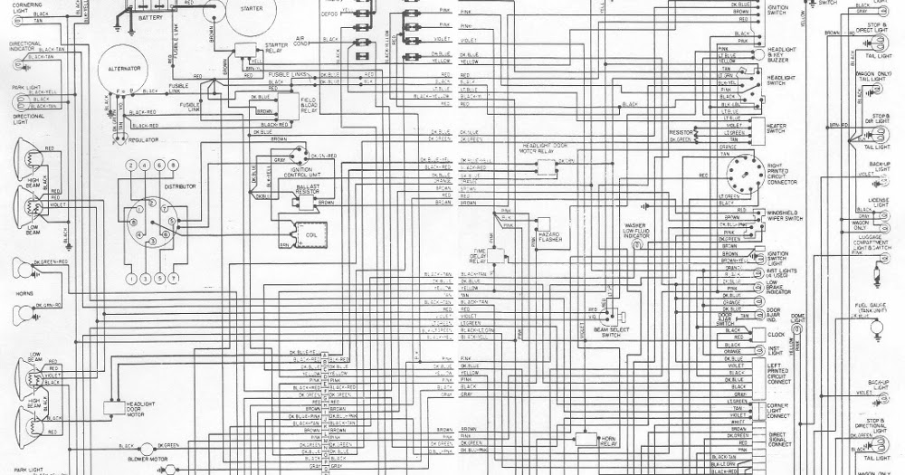 Owners And Manual  Electrical Wiring Diagram Dodge Monaco 1976