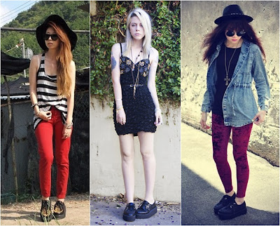 fotos modelos calçados creepers 2013