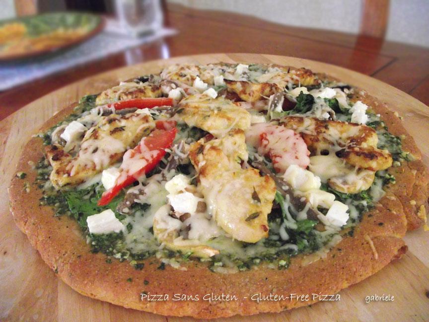 Cooki(ng) Gone Wild: Pizza Sans Gluten - Gluten Free Pizza