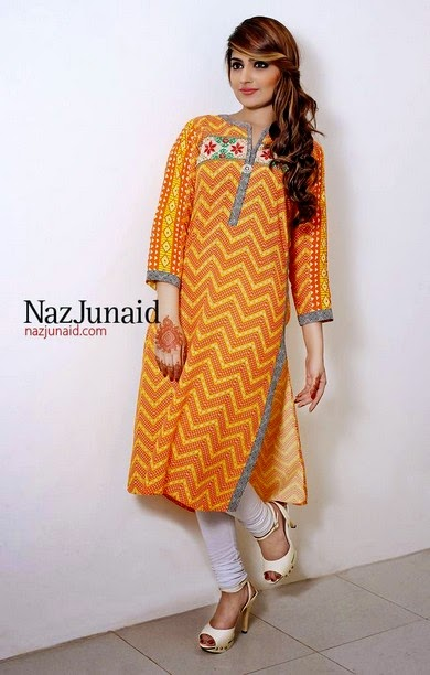 Naz Junaid Summer Collection 2014