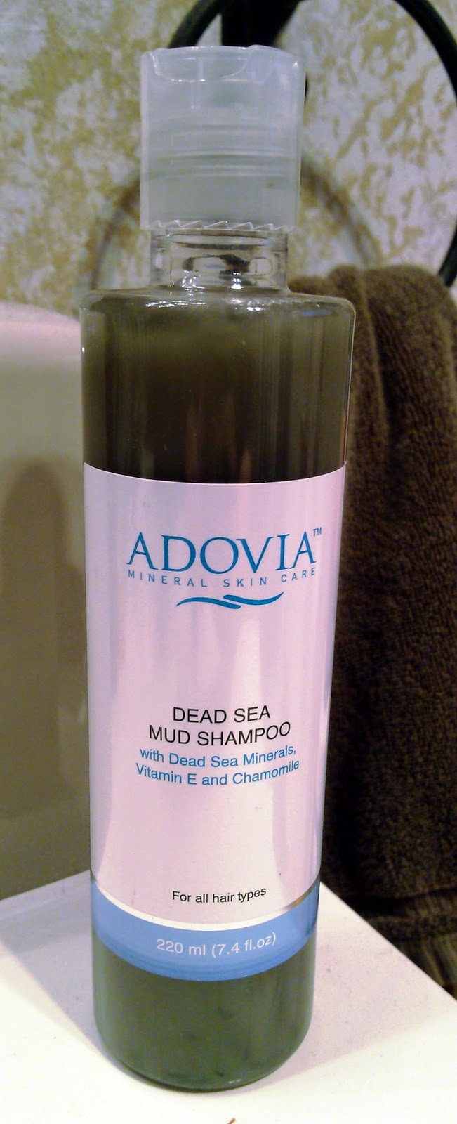 Adovia Dead Sea Mud Shampoo Review