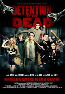 Detention of the Dead 2013 poster