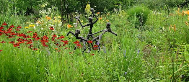 Foto 39 s jos braam druten beeld in arcadische tuin in for Tuin aanleggen nijmegen