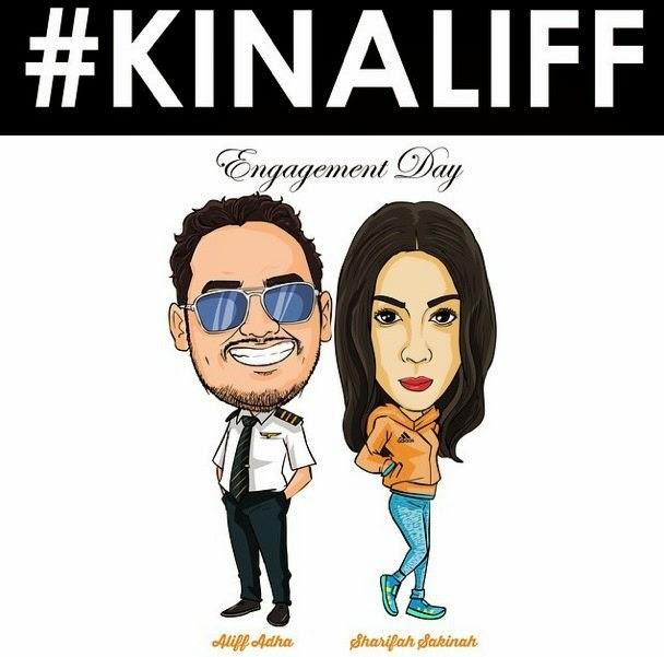 #kinaliff, Hiburan, info, Sekitar Majlis Pertunangan Sharifah Sakinah, sensasi, sharifah sakinah, terkini,