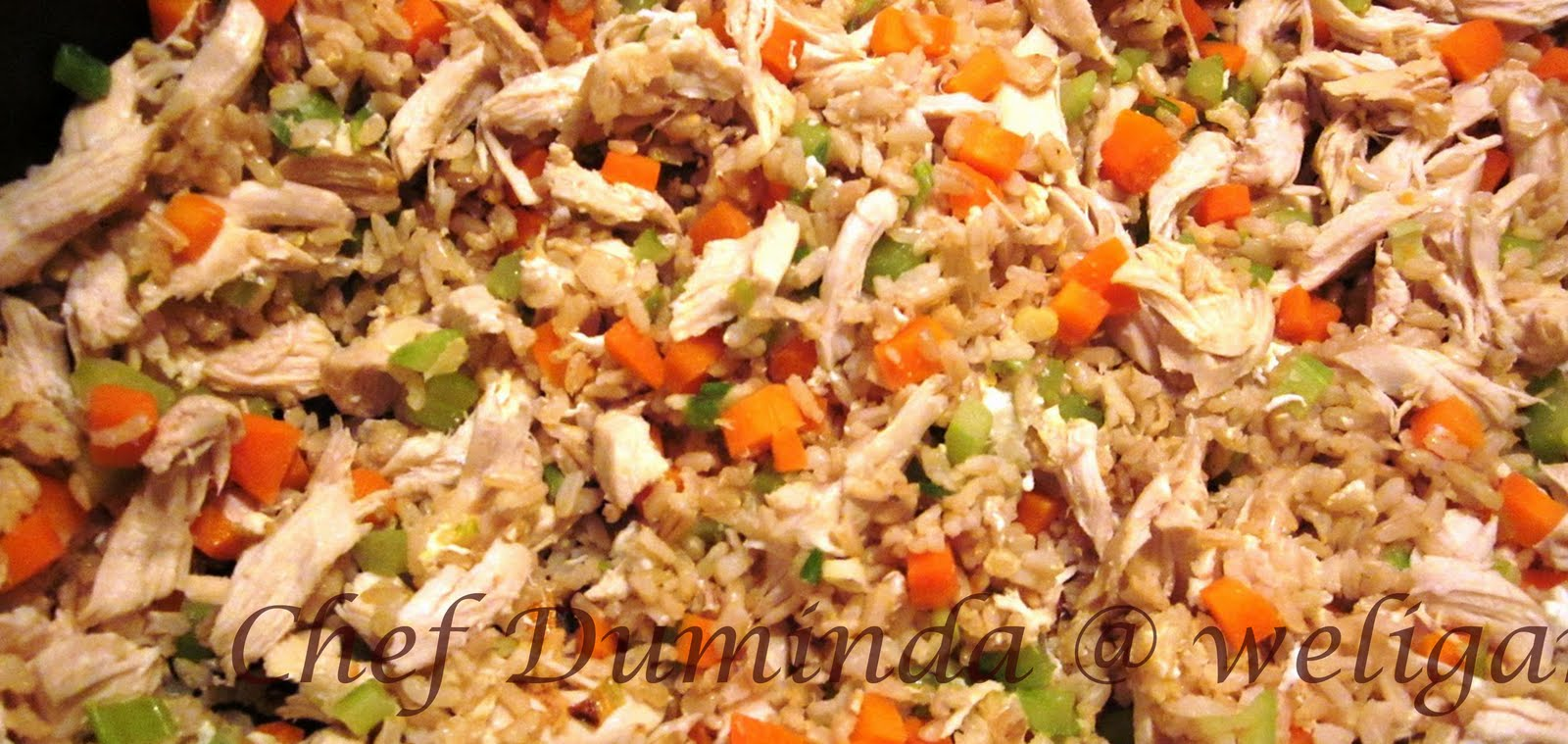 Cook with Chef Duminda: Chicken fried rice