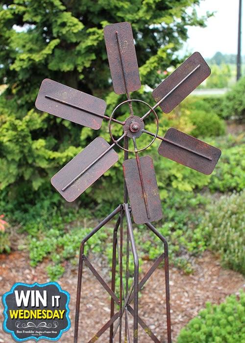 Garden Stake Windmill - 5ft tall!