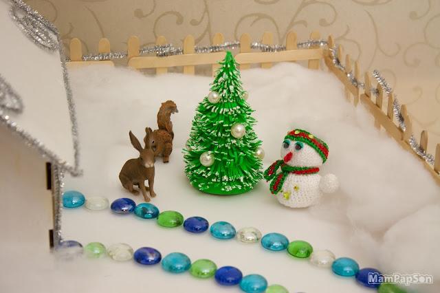 новогодняя ёлка из фоамирана своими руками