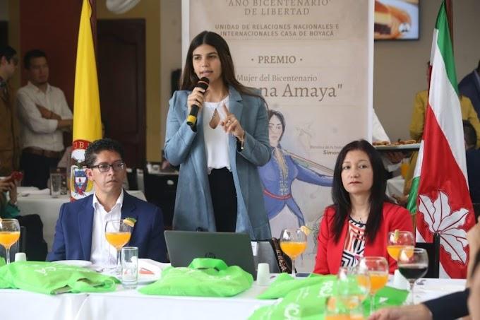 Gestora social de Boyacá presentó 'Semillas de Alegría en el Bicentenario'