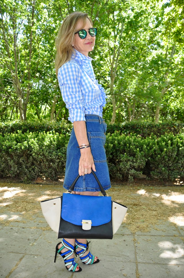 how to wear gingham como llevar vichy