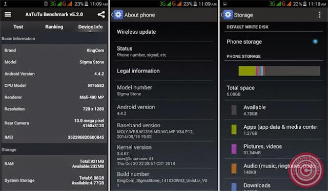 S!gma Stone Smartphone System