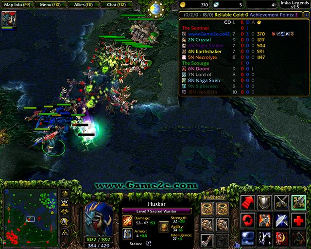 DotA Imba Legends 25 Upd6 English AI