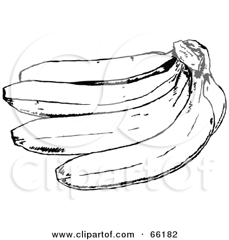 Banana Clip Art Black And White AD33 Idioms: Pi...