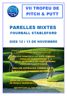 Torneig Parelles Mixtes Pitch and Putt TEIA