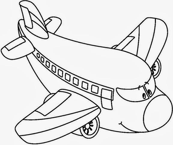desenho de avião para colorir desenhos para colorir