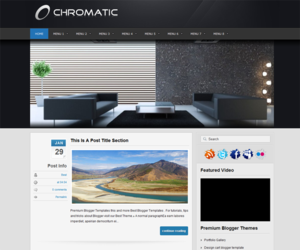 Chromatic Blogger Template
