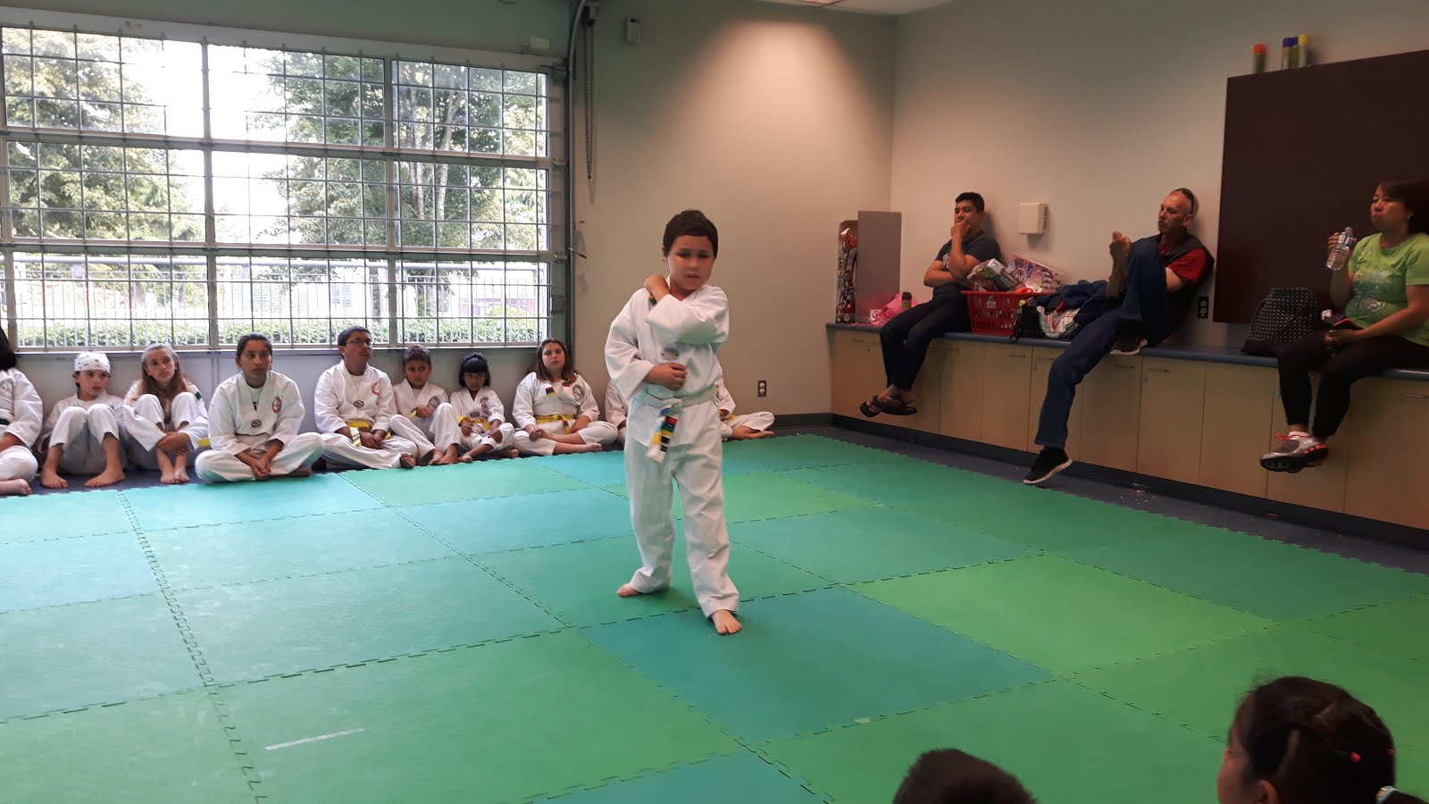 Tae Kwon Do test