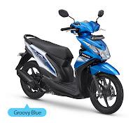 Honda BeAT FI CW Biru