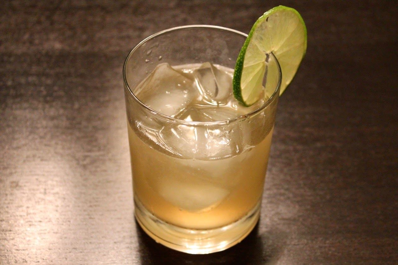 Cocktail: Dark 'n' Stormy