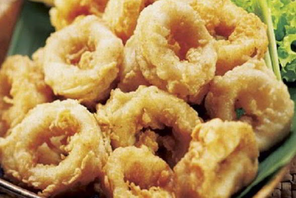 Resep Cara Membuat Cumi Goreng Tepung Crispy Renyah