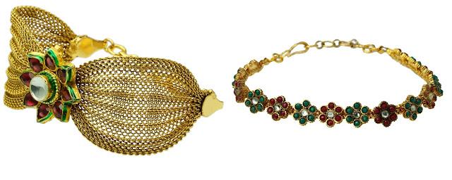 Designer Bracelets from Moksha Fashions