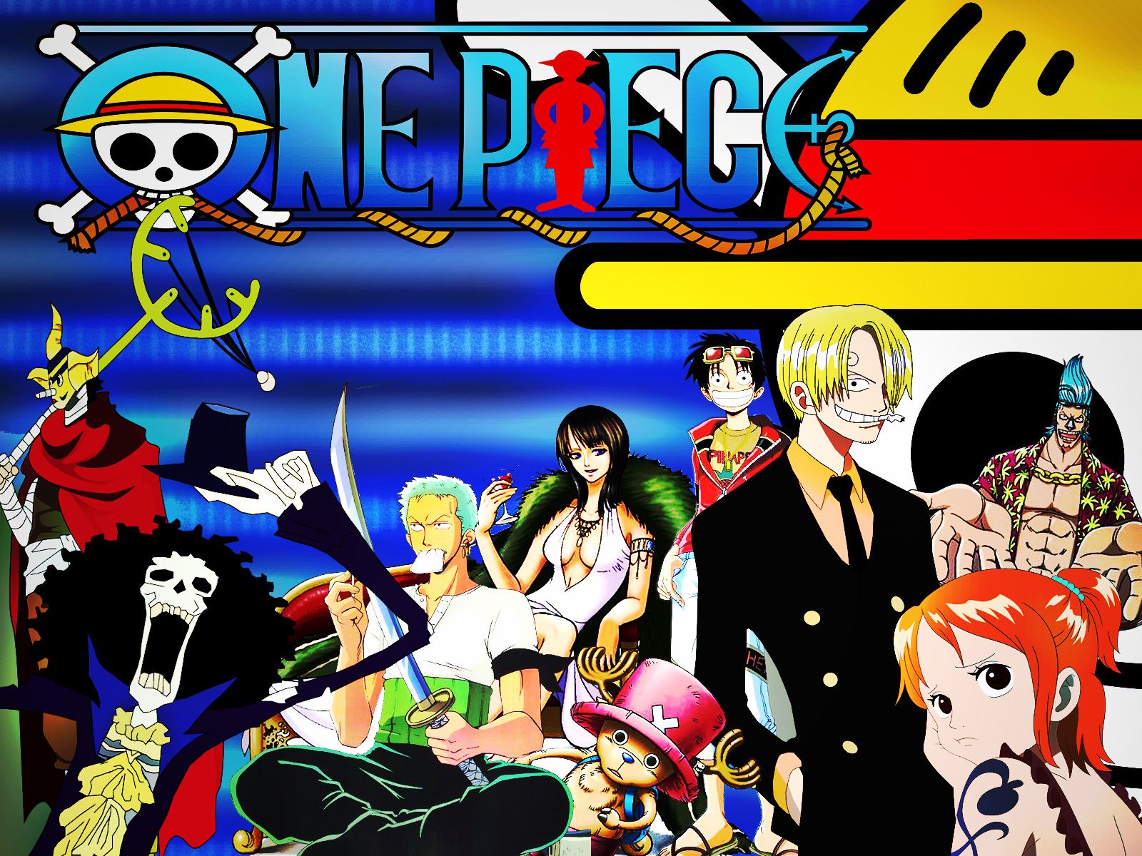 One Piece HD & Widescreen Wallpaper 0.435420091809606