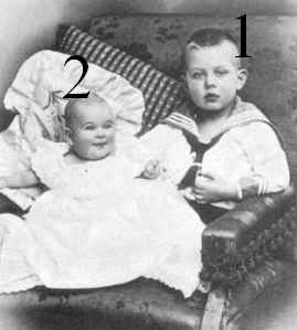 Grand-duc héréditaire Nikolaus et duchesse Ingeborg d'Oldenbourg
