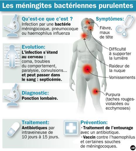 méningocoque c symptôme