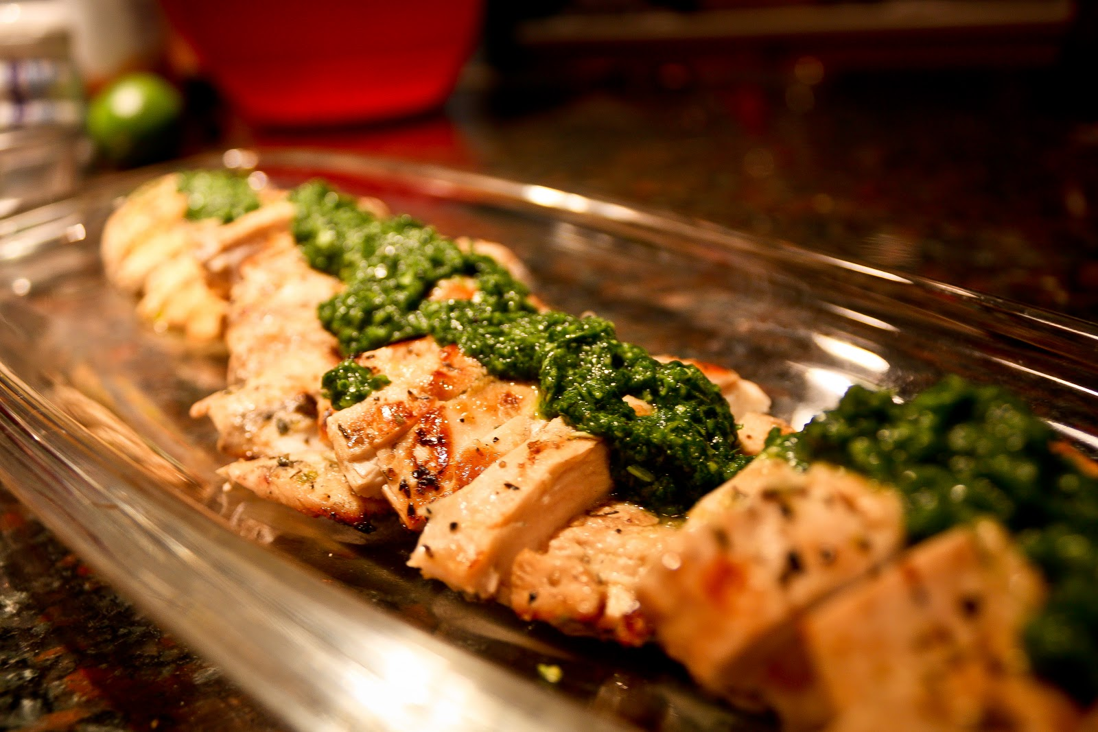 The Effervescent Oenophile: Grilled Chicken with Chimichurri