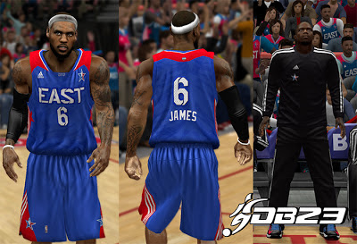 NBA 2K13 East All-Stars 2013 Jersey Patch
