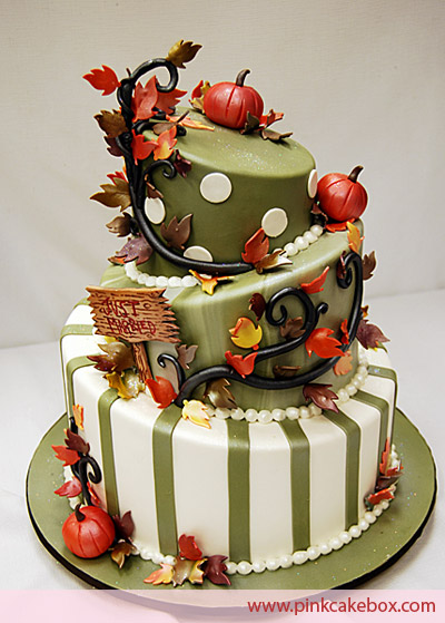 Autumn Decorated Cakes7