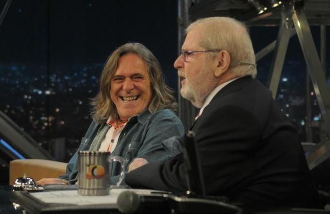 José de Abreu em conversa no 'Programa do Jô' (Foto: Divulgação/TV Globo)
