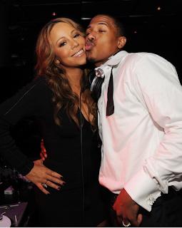 Mariah Carey and Nick