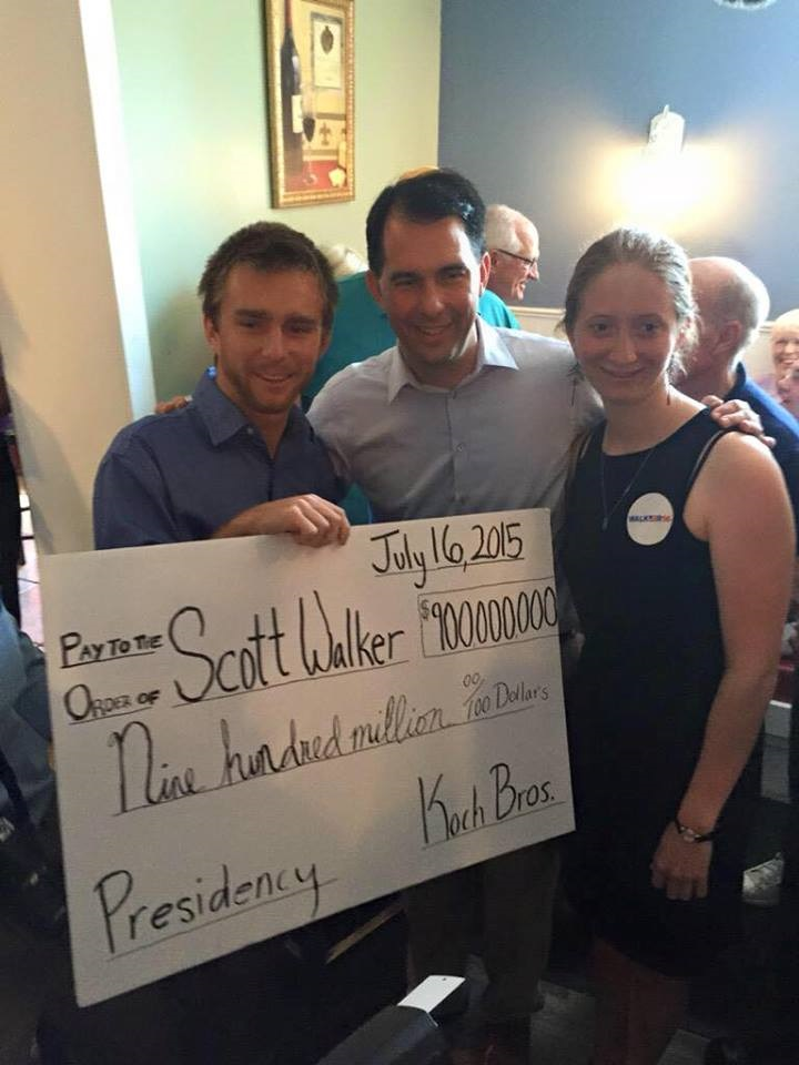 The time Scott Walker got hosed