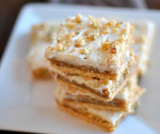Graham Cracker Coconut Bars