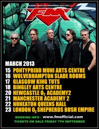 FM - 2013 tour dates