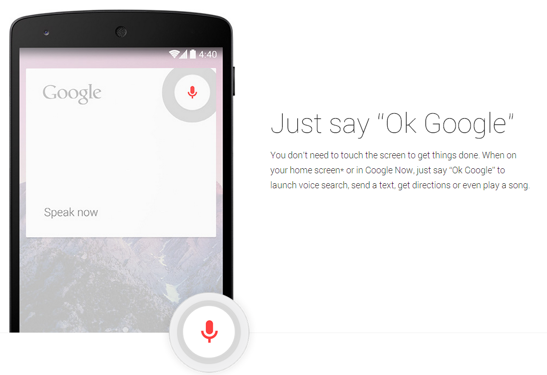 Ok Google Voice Search APP