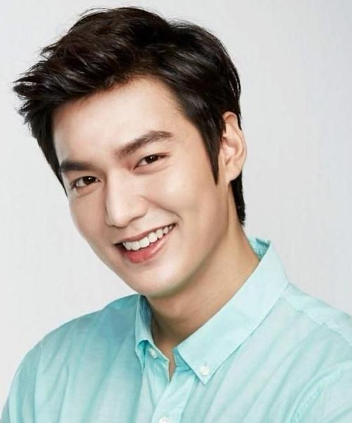 Cool Lee Min Ho hairstyle black color