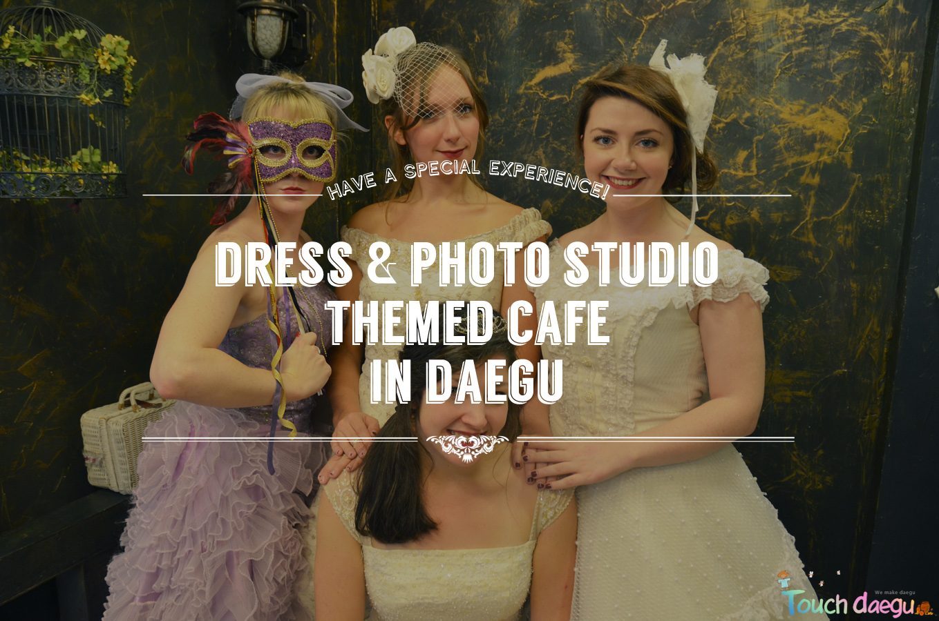 Daegu/Korea Dress & Photo Studio Themed Cafe