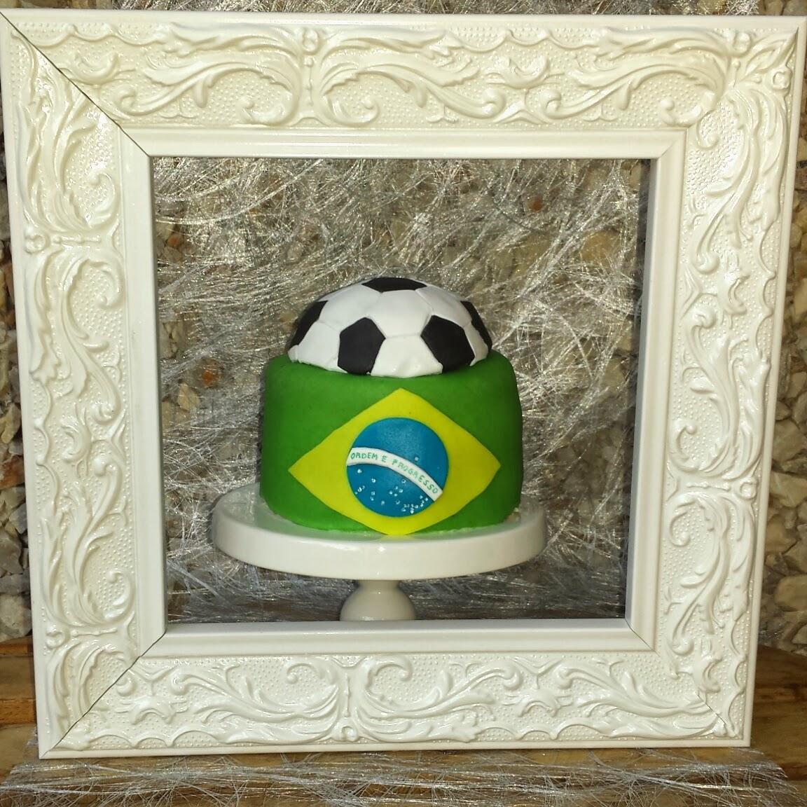 fotbollstårta Brasilien