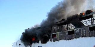 terbakarnya KM Marina Di banjarmasin