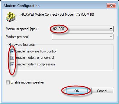cara mempercepat koneksi modem