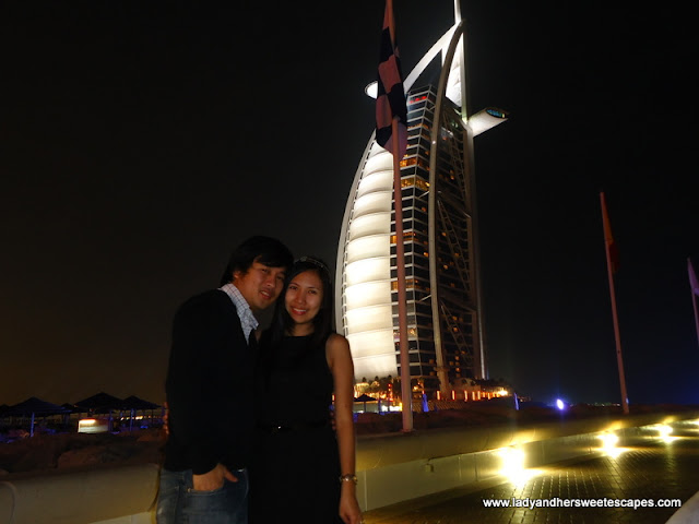 burj Al Arab Christmas