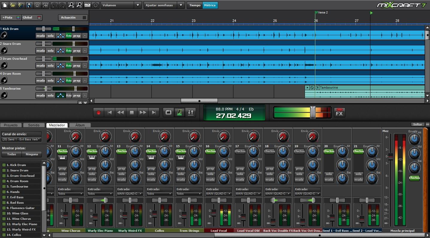 Acoustica mixcraft v6 1 build 201 multilingual