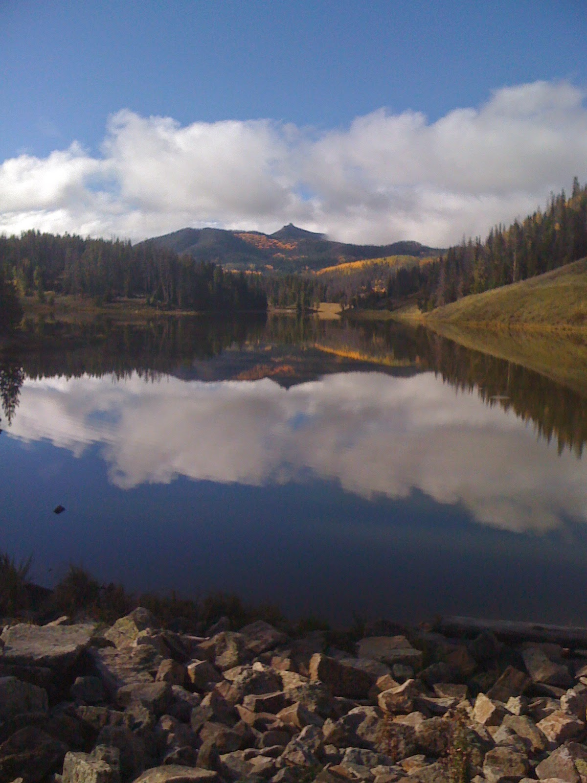 Hahn's Peak Lake