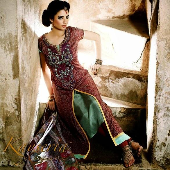 Rang-e-Mahrani Embroidered Eid Dress